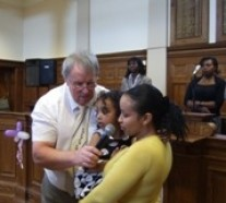 Paralysed Child in London. Healed